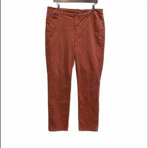TALBOTS 5 Pockets Corduroy Straight Pants Sz 14